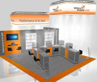 Booth design WIRE 2016